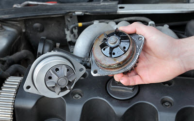 Land Rover Water Pump Replacement