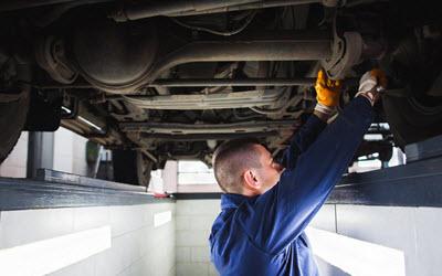 Volkswagen Broken Rear Spring Check