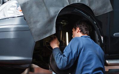 Jaguar Self-Leveling Suspension Repair