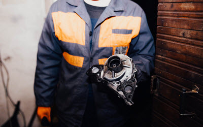 Porsche Leaky Water Pump Fix